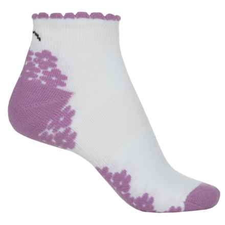 Eurosock CoolMax® Run Socks - Below the Ankle (For Women) in Pink - Closeouts