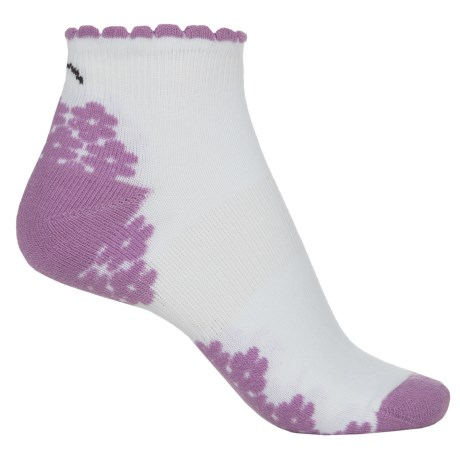 Eurosock CoolMax® Run Socks - Below the Ankle (For Women) in Pink