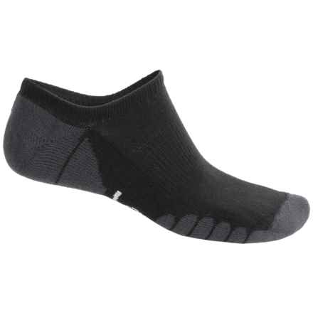 Eurosock Eagle Ghost Socks - Below the Ankle (For Men and Women) in Black - Closeouts