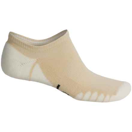 Eurosock Eagle Ghost Socks - Below the Ankle (For Men and Women) in Tan - Closeouts