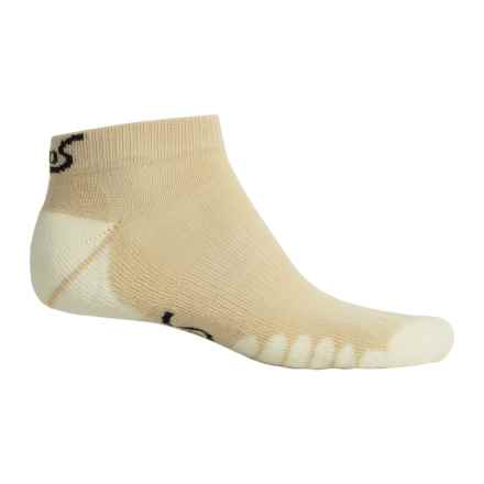 Eurosock Fairway Ped Socks - Below the Ankle (For Men and Women) in Tan - Closeouts