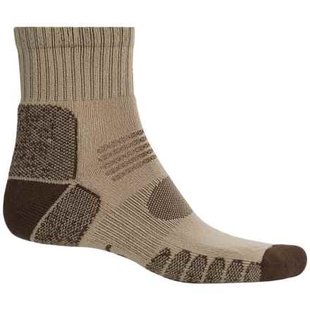 Eurosock Hiking Socks - Crew (For Men and Women) in Beige/Brown - Closeouts