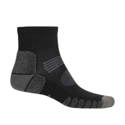 Eurosock Hiking Socks - Crew (For Men and Women) in Black/Grey - Closeouts