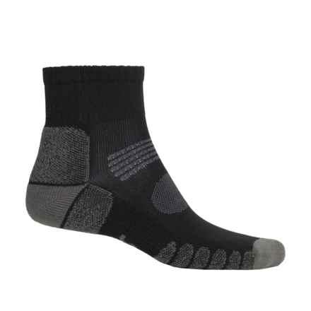 Eurosock Hiking Socks - Crew (For Men and Women) in Black/Grey - Closeouts