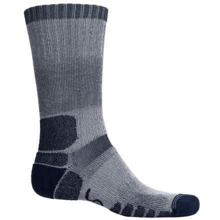 Eurosock Midweight Trekking/Hiking Outdoor Boot Socks - Mid Calf (For Men and Women) in Denim - Closeouts