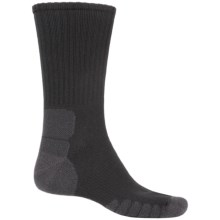 Eurosock Multipurpose Silver DryStat® Socks - Crew (For Men and Women) in Black - Closeouts