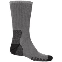 Eurosock Multipurpose Silver DryStat® Socks - Crew (For Men and Women) in Dark Grey - Closeouts