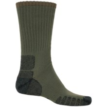 Eurosock Multipurpose Silver DryStat® Socks - Crew (For Men and Women) in Forest - Closeouts