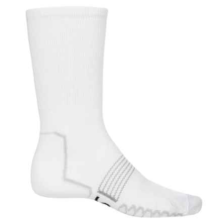Eurosock Multisport Socks - CoolMax®, Crew (For Men and Women) in White - Closeouts
