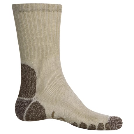 Eurosock Outdoor Crew Socks (For Men and Women) in Green