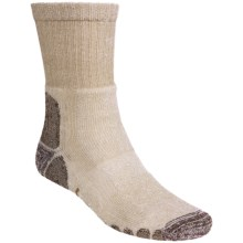 Eurosock Outdoor Crew Socks (For Men and Women) in Khaki - Closeouts