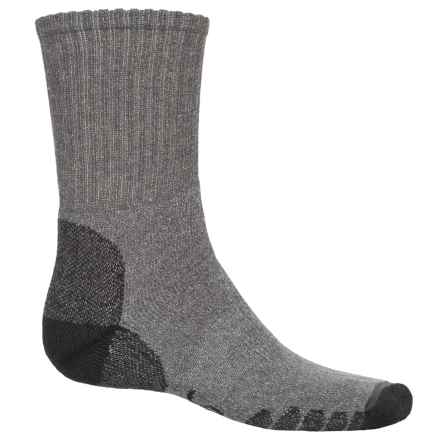 Eurosock Outdoor Working All Around Hiking Socks - Crew (For Men And Women) in Dark Grey - Closeouts