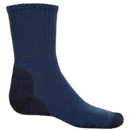 Eurosock Outdoor Working All Around Hiking Socks - Crew (For Men And Women) in Navy - Closeouts