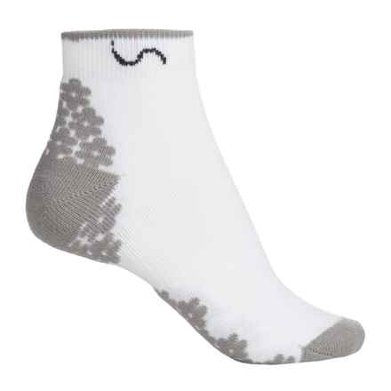 Eurosock Ped CoolMax® COURT Socks - Ankle (For Women) in White - Closeouts