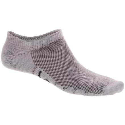 Eurosock Sprint CoolMax® Ultralight Ghost Socks - Below the Ankle (For Men and Women) in Gray - Closeouts