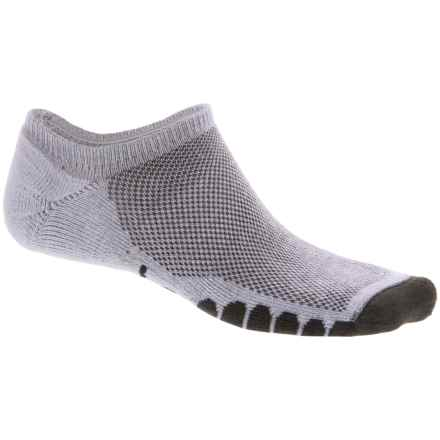 Eurosock Sprint Supreme Ghost Socks - Below the Ankle (For Men and Women) in Gray - Closeouts