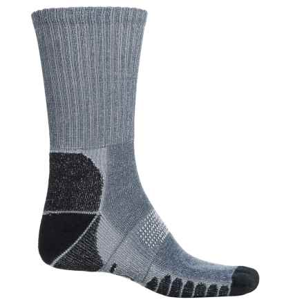 Eurosock Walking and Camping Socks - Crew (For Men and Women) in Navy - Closeouts