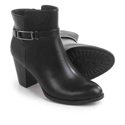 Eurosoft by Sofft Sigourney Ankle Boots - Faux Leather (For Women) in Black - Closeouts