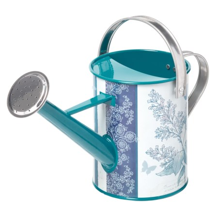 Evergreen Botanicals Watering Can in Blue