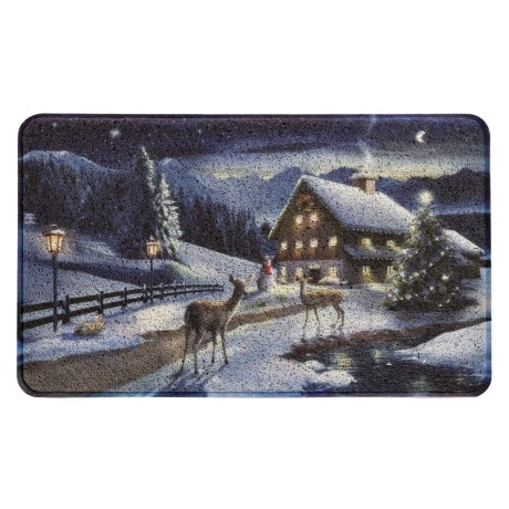 """Evergreen Holiday Trapper Doormat - 18x30"""" in Path To Christmas"""