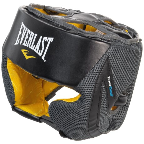 Everlast EverCool Headgear - Level III in Black/Grey