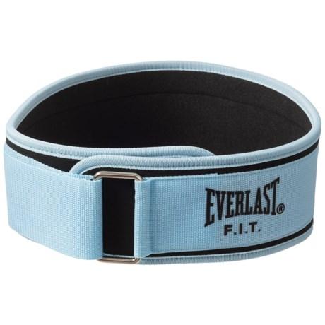 Everlast F.I.T. Foam Core Support Belt in Black/Blue