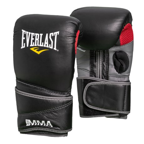 Everlast MMA Clinch Strike Pro Gloves - Leather, 14 oz. in See Photo