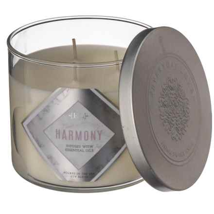 Everyday Luxe Crisp Eucalyptus Soy-Blend Candle - 3-Wick, 14.5 oz. in See Photo - Closeouts
