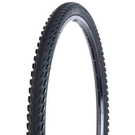"Evo All-Road Bicycle Tire - Wire Bead Clincher, 30 TPI, 26x1.50"" in Black - Closeouts"