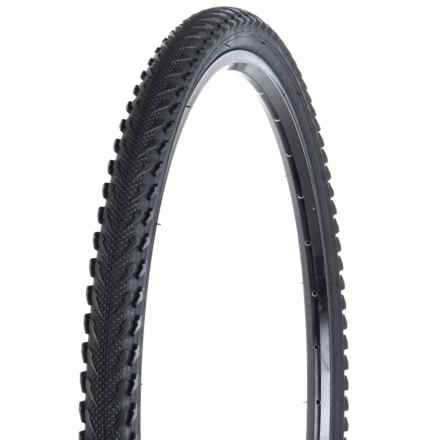 "Evo All-Road Bicycle Tire - Wire Bead Clincher, 30 TPI, 26x1.90"" in Black - Closeouts"