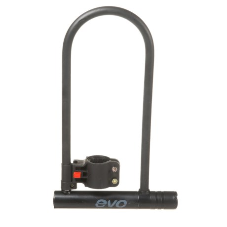 Evo E-Force Long U-Lock Bike Lock in See Photo