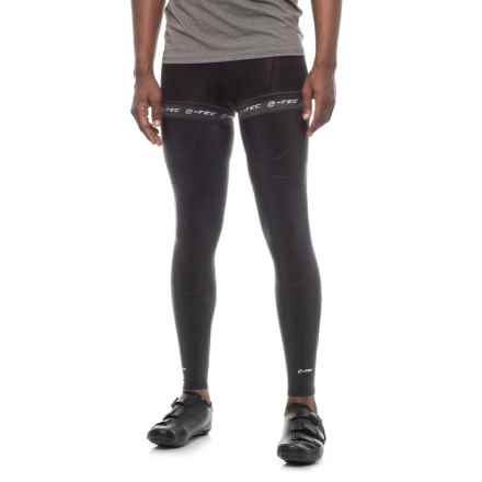 Evo E-Tec Cycling Leg Warmers in Black - Closeouts
