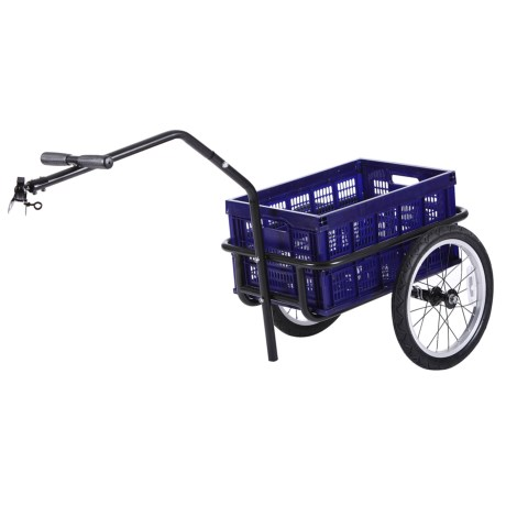 Evo E-Tec Surf Comber Bike Cargo Trailer in See Photo