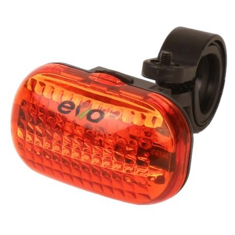 Evo E-Tec Tl3 Rear Bike Light - Red in See Photo