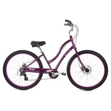 Evo Park Lane 8-Speed Step-Thru Bike in Purple - Closeouts