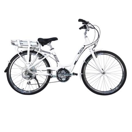 Evo ST1 Step-Through BionX Electric Bike - 48Vx8.8A in White