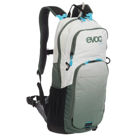 EVOC CC 16L Hydration Pack - 70 fl.oz. in White/Olive