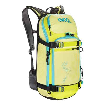 EVOC FR Pro Backpack - 18L, Internal Frame (For Women) in Yellow/Sulphur - Closeouts