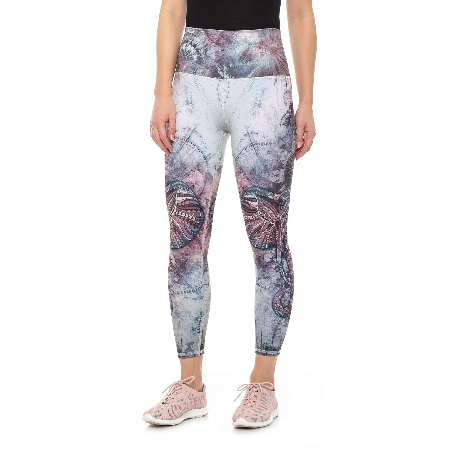 f2df08d5be197 Evolution and Creation Fractal Heaven High-Waist Leggings (For Women) in  Print ...