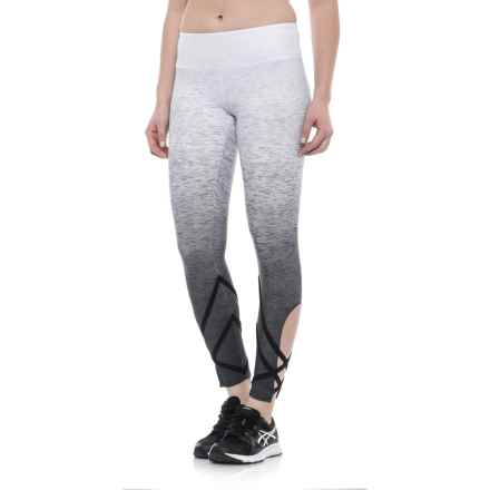 Evolution and Creation Geo Ombre Print Capris - High Waist (For Women) in Grey - Closeouts