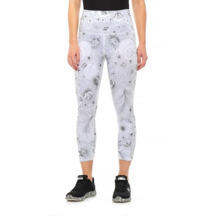 df8555d4ac Evolution and Creation Vintage Floral High Waist Capris (For Women) in  Print - Closeouts