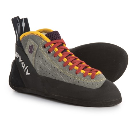 Evolv Astroman Climbing Shoes (For Big Kids) in Grey