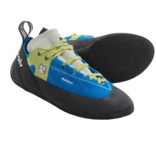 Evolv Axiom Climbing Shoes - Suede (For Men and Women) in Blue - Closeouts
