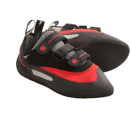 Evolv Bandit SC Climbing Shoes (For Men and Women) in Red/Black - Closeouts