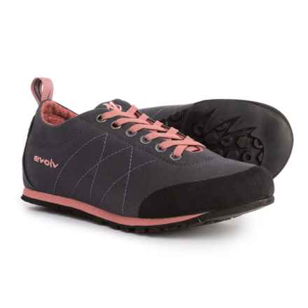 Evolv Cruzer Psyche Approach Shoes (For Big Kids) in Phantom/Canyon Rose - Closeouts