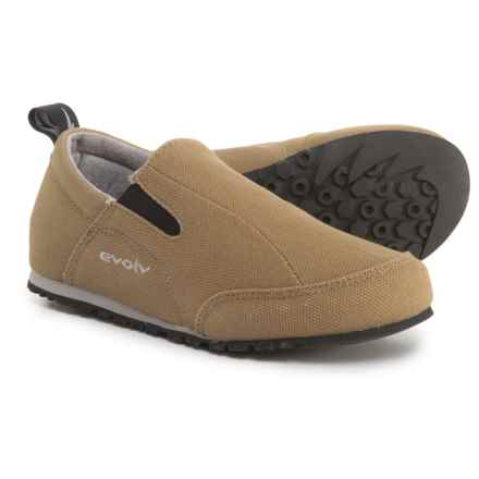 Evolv Cruzer Shoes - Slip-Ons (For Big Kids) in Mocha - Closeouts