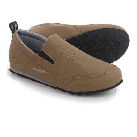 Evolv Cruzer Slip-On Shoes (For Men and Women) in Mocha - Closeouts