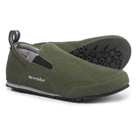 Evolv Cruzer Slip-On Shoes (For Men) in Olive - Closeouts