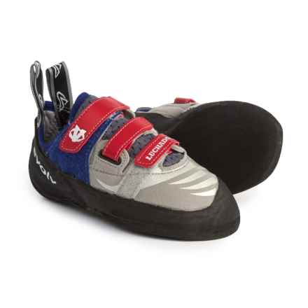 Evolv Luchador SC Climbing Shoes (For Big Kids) in Grey - Closeouts