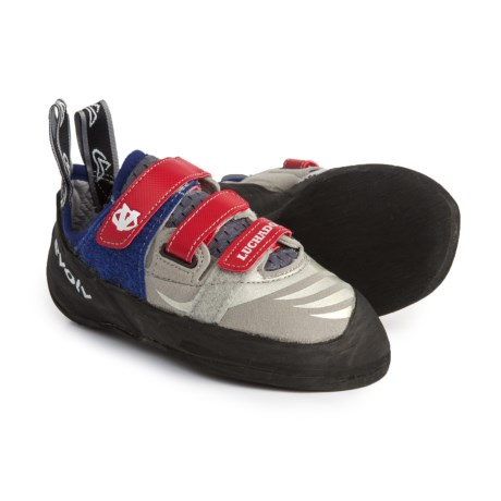 Evolv Luchador SC Climbing Shoes (For Big Kids) in Grey